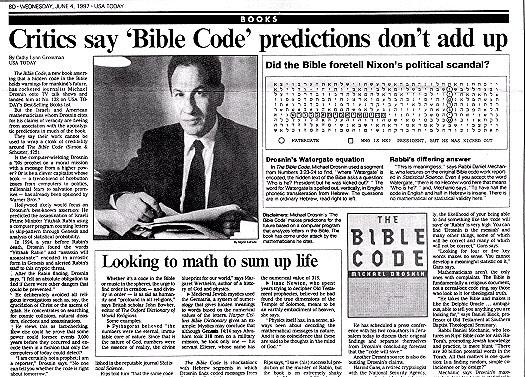 La Bible contient-elle un code secret ??? Newsweek